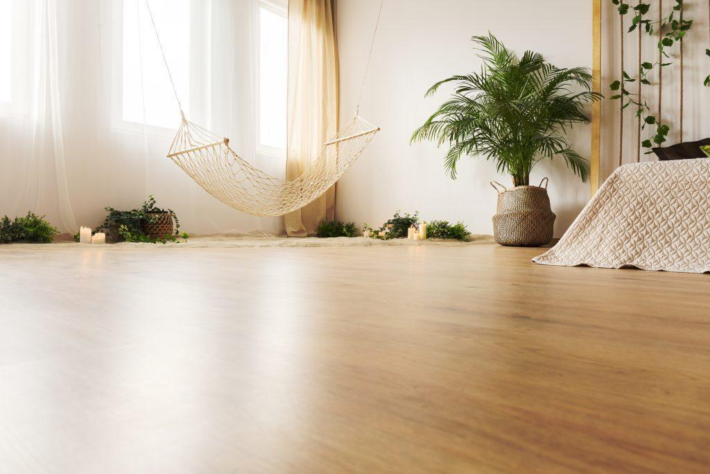 Clean Old Damaged Wood Floors